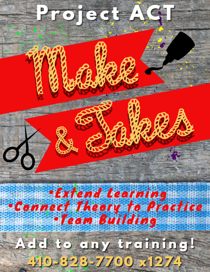 Make & Take Flyer